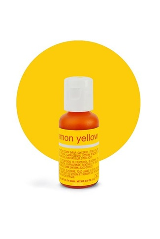 LEMON YELLOW CHEFMASTER PASTE COLOUR 20g