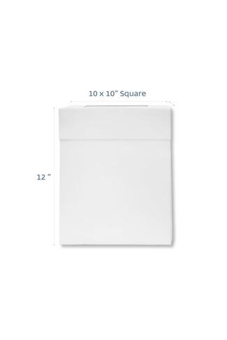 "10"" TALL BOX WITH WINDOW LID"