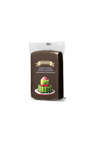 BROWN FONDANT 1kg by VIZYON