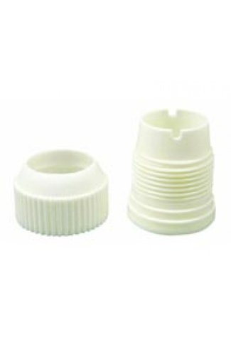 COUPLER FOR LARGE PLASTIC NOZZLES