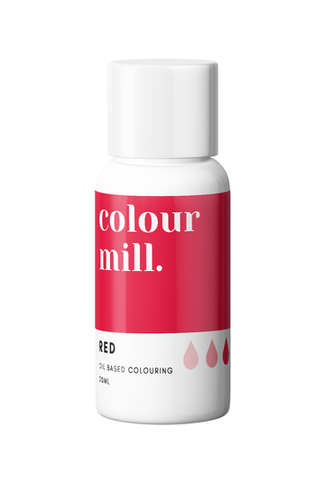 RED COLOUR MILL OIL BASED COLOURING 20ml
