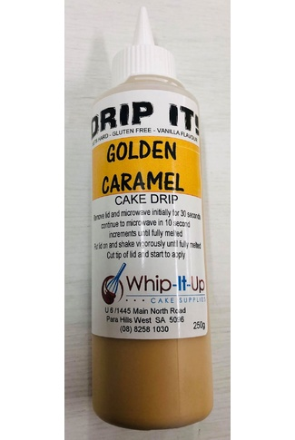 GOLDEN CARAMEL - DRIP IT! 250ml - DRIP FOR CAKES