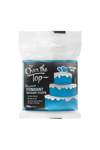 ICE BLUE FONDANT 250g by OVER THE TOP