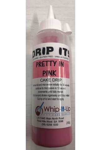 PRETTY IN PINK - DRIP IT! 250ml - DRIP FOR CAKES