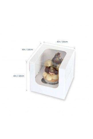 SINGLE CUPCAKE BOXES 10 pack