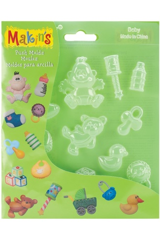 MAKINS BABY PUSH MOULDS