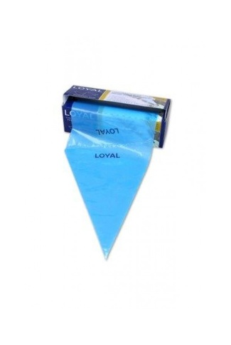 "12"" BLUE DISPOSABLE PIPING BAGS X 100 by LOYAL"