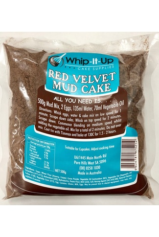 RED VELVET MUD MIX 500GM
